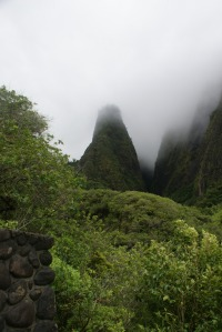 The Iao Needle at the Iao Valley State Park